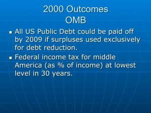 Economic Outcomes 2000 (2)