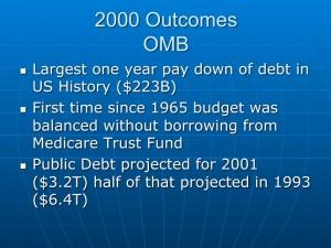 Economic Outcomes 2000 (1)